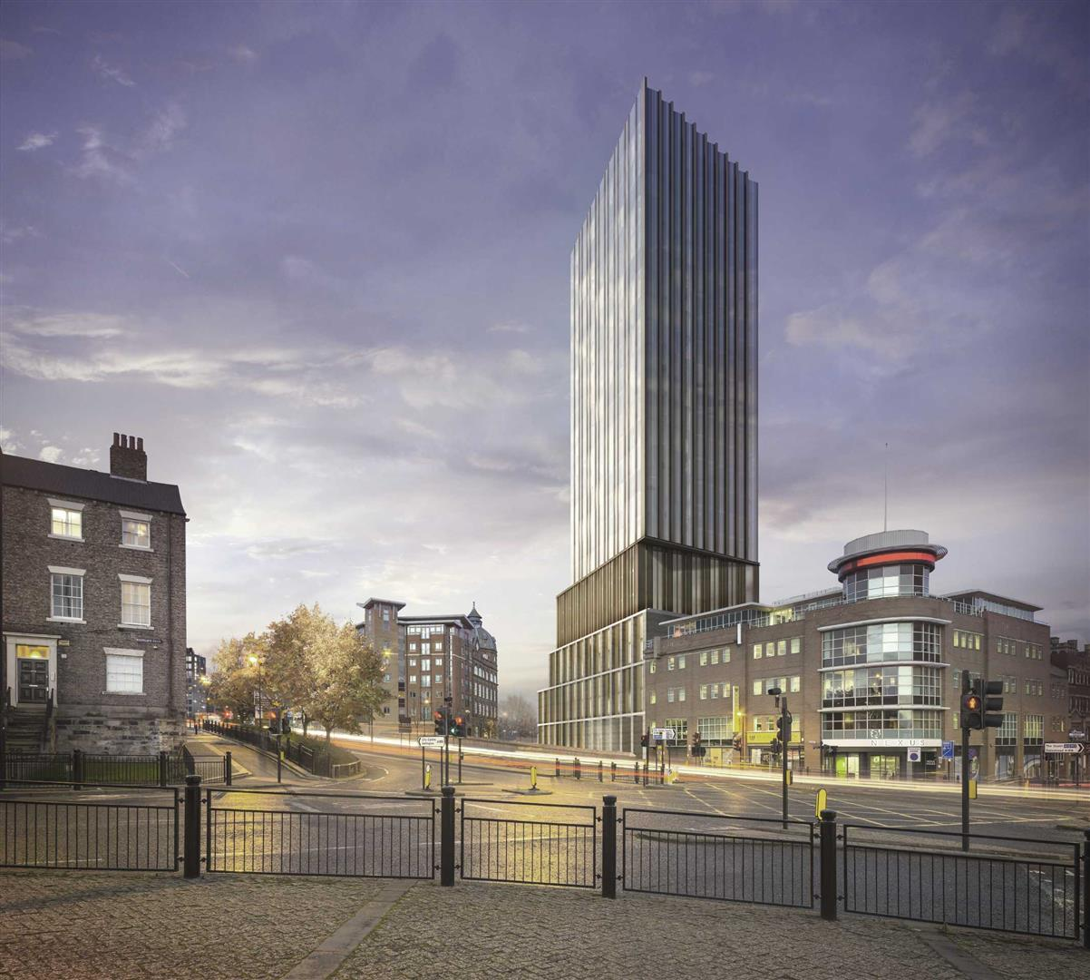 Hadrian's Tower Newcastle Upon Tyne, 3 Bedrooms  Apartment ,1 Receptions ,UK New Homes